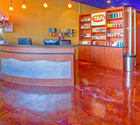 New Jersey Metallic Epoxy Floors