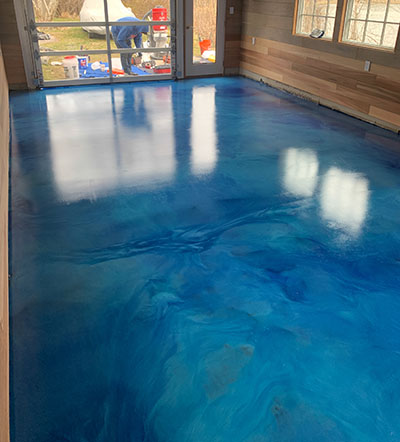 New Jersey Metallic Epoxy Contractors